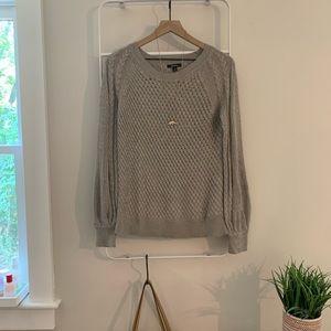 Ella moss | knot belle sleeve sweater